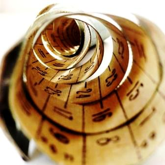 спираль сантиметра